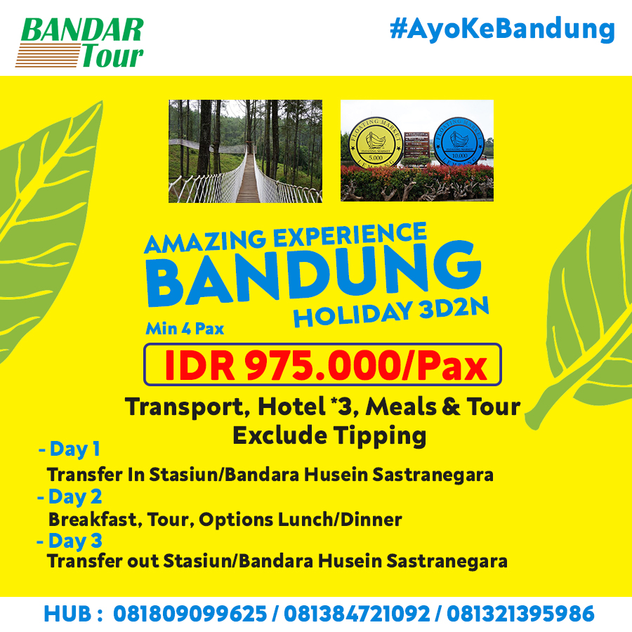 3D2N Amazing Bandung