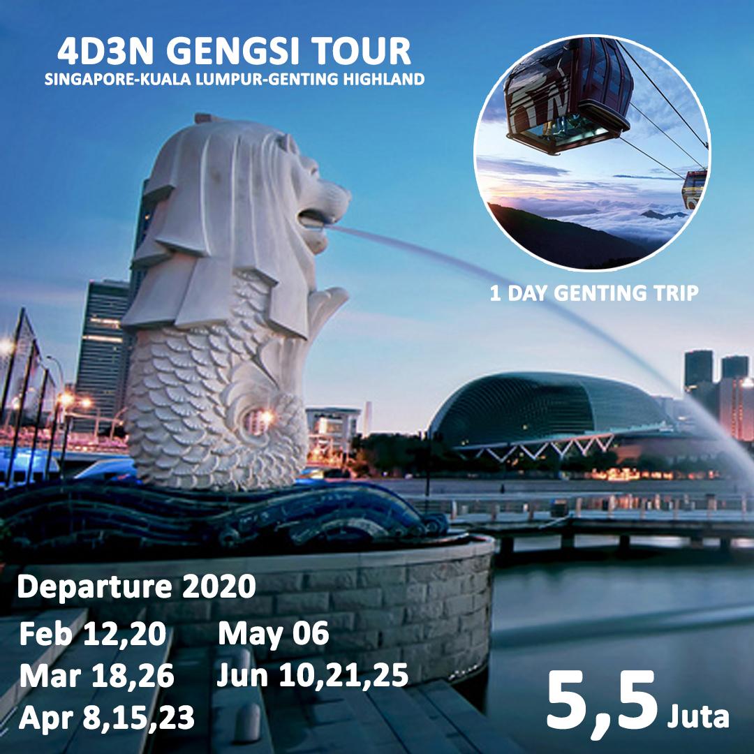 4D3N GENGSI TOUR
