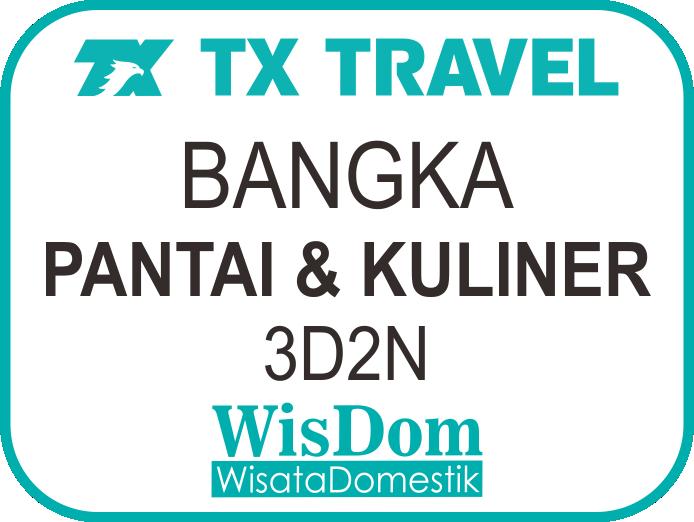 FIT BANGKA 3D2N Pantai&Kuliner (min.02pax)