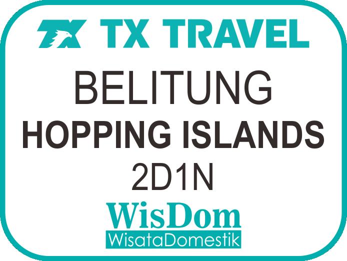 FIT BELITUNG 2D1N Hopping Island (min.02pax)